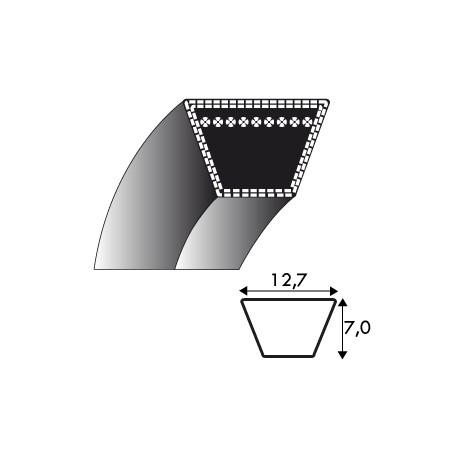 Courroie 4L1000 - 12.7 mm x 2540 mm