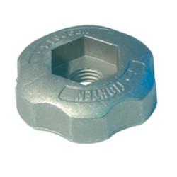 Écrou aluminium pour tête de débroussailleuse Speedy