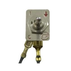 Interrupteur pour tronçonneuse et débroussailleuse (2 fils)