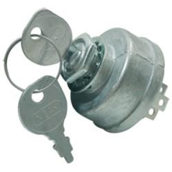 Contacteur à clé John Deere AM103286 - AM32318 - AM3395 - 3 positions - 5 bornes