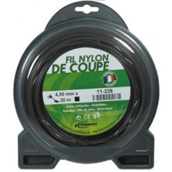 Coque fil nylon penta creusé (1/2 kg) ø : 4,4 mm