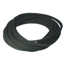 Durite caoutchouc noire ø : 3 mm - Long. : 10 m