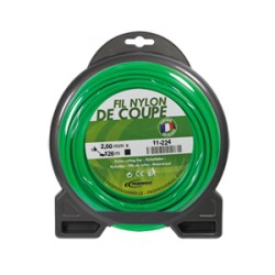 Coque fil nylon rond (1/2 kg) ø : 2,0 mm