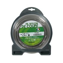 Coque fil nylon carré (1/2 kg) ø : 2,4 mm