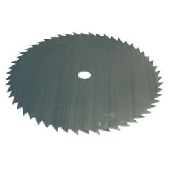 Lame de débroussailleuse acier 54 dents