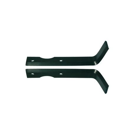 Couteau de de fraise pour motoculteur Agria / Solo 190 mm (sarcleur) Conditionnement par paire