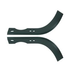 Couteau de fraise pour motoculteur universel 219 mm (labour) Conditionnement par paire