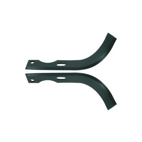 Couteau de fraise pour motoculteur Bouyer / Honda/ Iseki / Mitsubishi 240 mm (labour) Conditionnement par paire